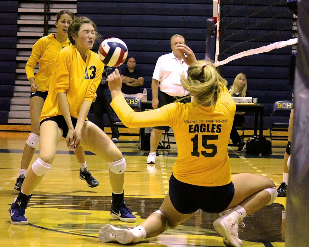 Roundup: Roe, Bailey help volleyball team score wins | Boulder City