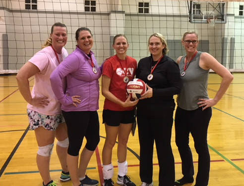 Kelly Lehr The champion Volleygirls, Kim Strong, Christel Stearman, Camis Higbee, Amber Caudell, and Danielle Ceci, were undefeated in Boulder City Parks and Recreation's women's volleyball league ...