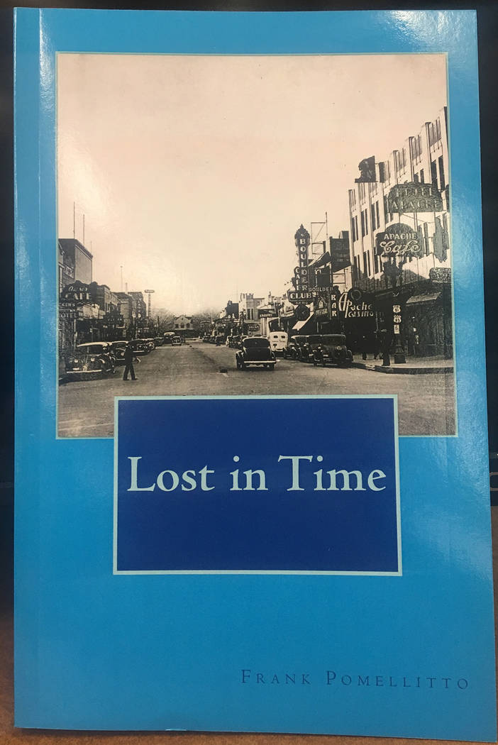 "Frank Pomellitto Boulder City resident Frank Pomellitto recently published his second book, ""Lost in Time,"" which is set in Boulder City in the early 1930s. He will sign copies from 11 a.m. to 1 p ..."
