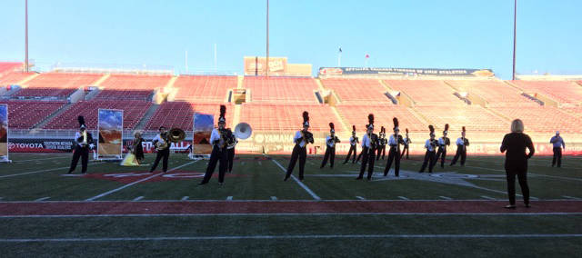 James Gillette Boulder City High School's marching band won several first-place awards after competing in Western Band Association's UNLV Super Show at Sam Boyd Stadium on Saturday.