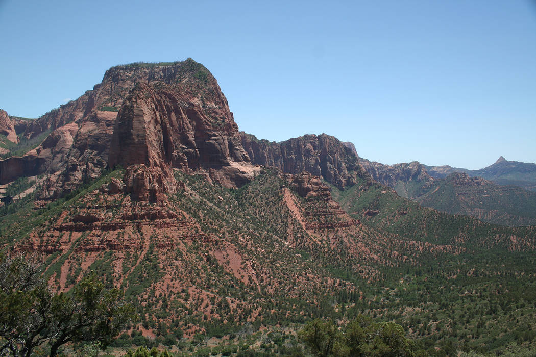 Deborah Wall The Kolob Canyons section of Zion National Park is just minutes off of Interstate 15 in Utah. It is often less crowded than the main portion of the park.