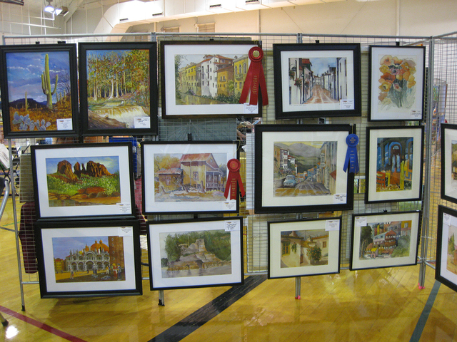 File Arts and crafts will fill the gym at the city's recreation center Saturday and Sunday as Boulder City Art Guild hosts its 13th annual Winter ArtFest.