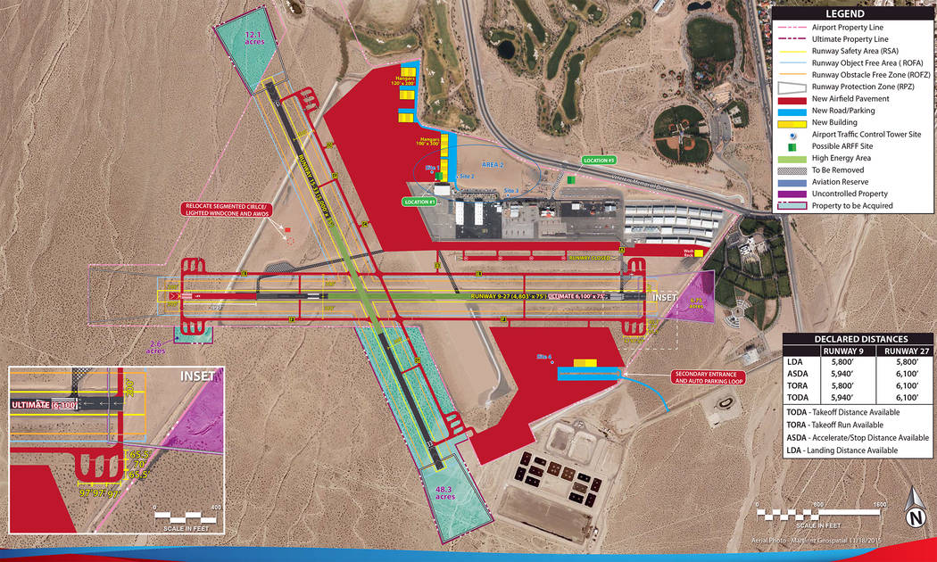Boulder City The Airport Master plan includes expansion that the Boulder City Airport may or may not see in the next 20 years.