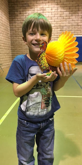 Kelly Lehr Mack Burke came in first place in the first- and second-grade age division of the Boulder City Parks and Recreation Department's annual Turkey Shoot held Nov. 14 and 15.
