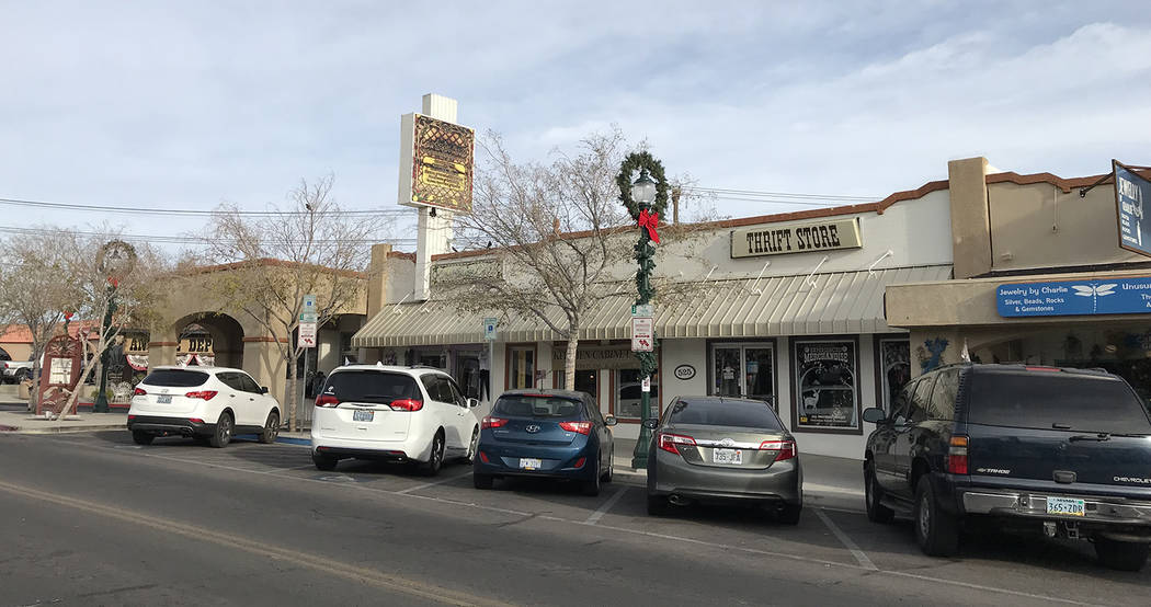 Hali Bernstein Saylor/Boulder City Review Small Business Saturday, held on the Saturday after Thanksgiving, encourages people to shop at their small, locally owned businesses.