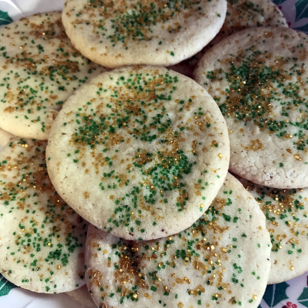 Michelle Gemmill/Boulder City Review Angel cookies