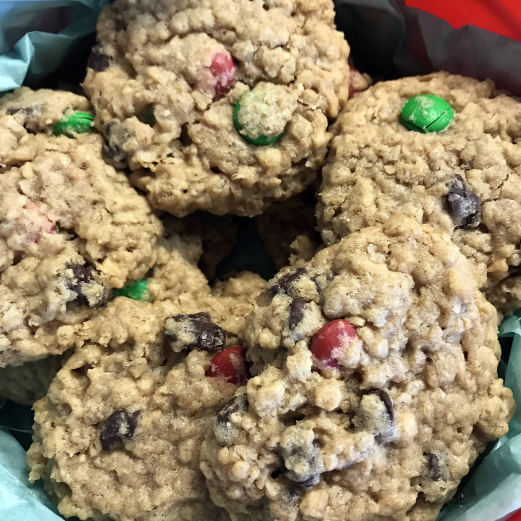 Michelle Gemmill/Boulder City Review Monster cookies