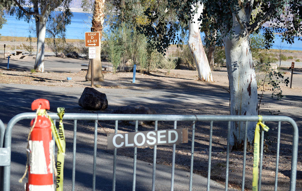 Celia Shortt Goodyear/Boulder City Review Construction on Loop D of the Boulder Beach Campground at Lake Mead National Recreation Area began Monday as part of a $3.4 million renovation for it and  ...