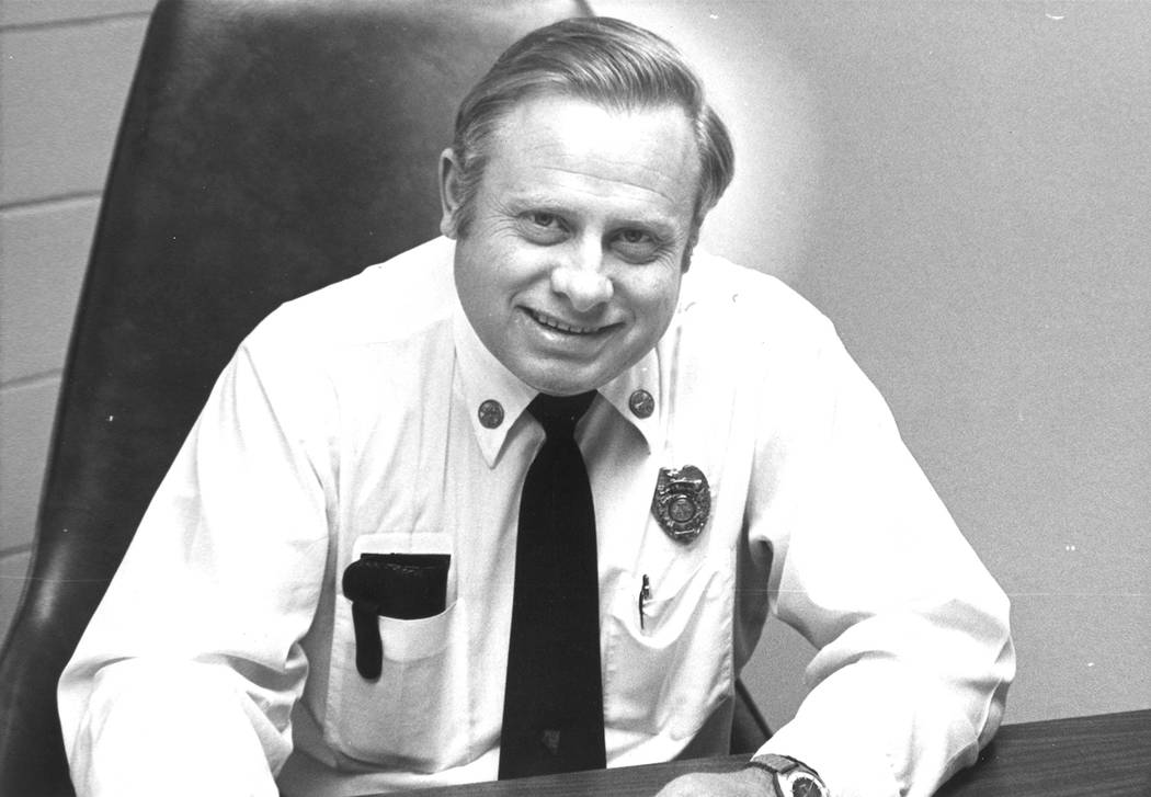 Boulder City Fire Department Former Fire Chief Robert Sears died at the age of 89 on Nov. 20 in Buhl, Idaho.