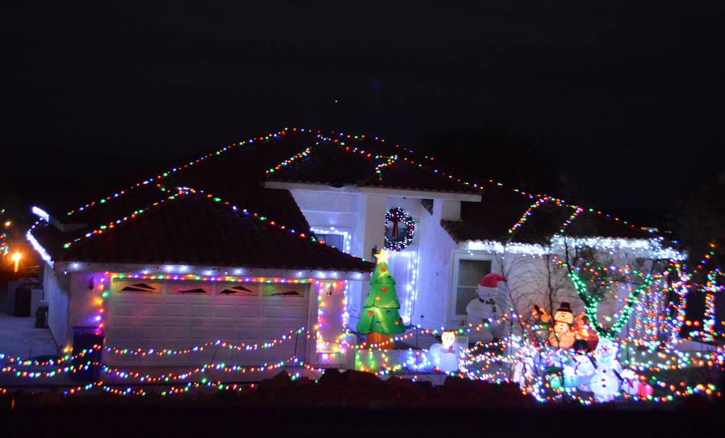 Celia Shortt Goodyear/Boulder City Review 1400 block of San Felipe Drive.