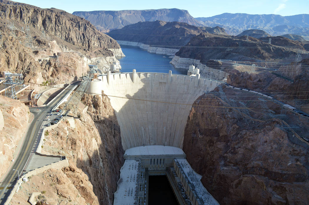 Celia Shortt Goodyear/Boulder City Review The National Park Service is now providing rangers for law enforcement at the Hoover Dam.