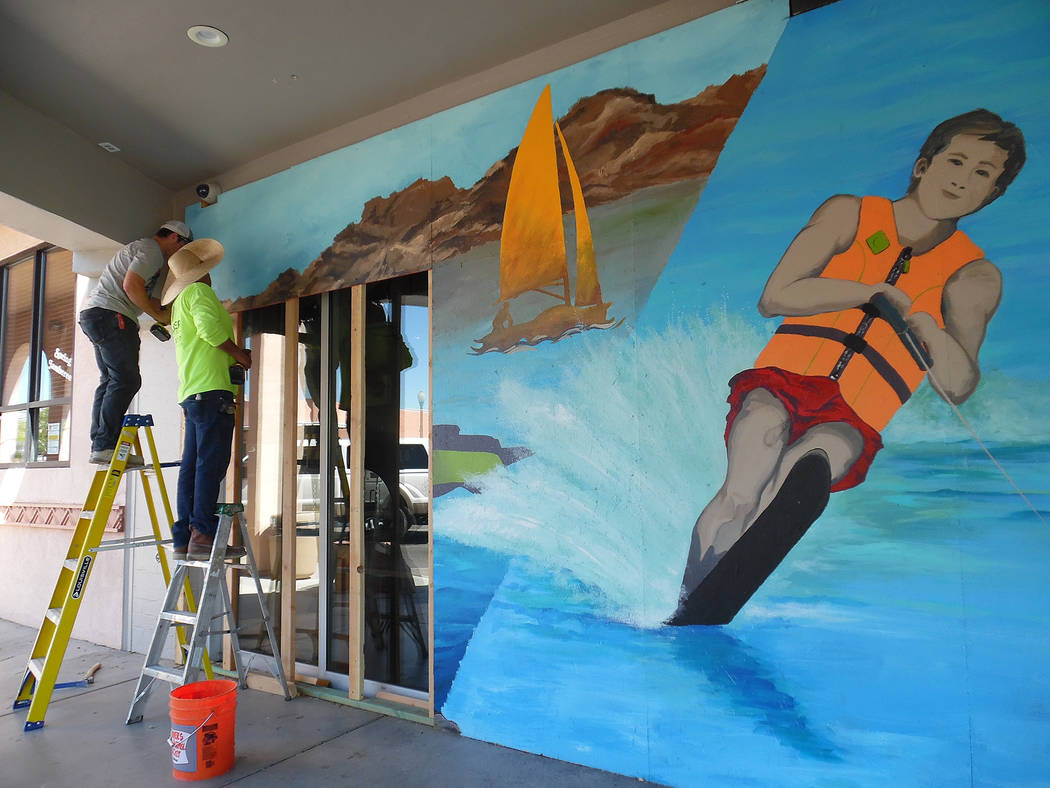 File Murals were removed from the former Scratch House restaurant on Arizona Street as well as the old Browder building on Nevada Way. The owner applied for a demolition permit for the Browder bui ...
