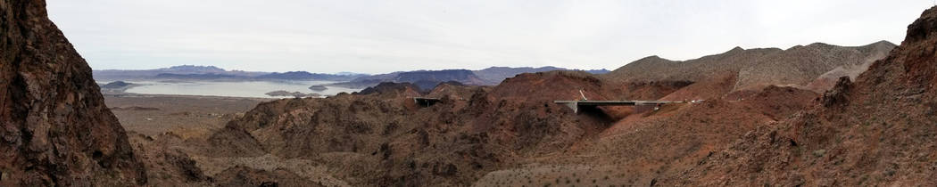 Regional Transportation Commission of Southern Nevada A bridge on the 12.5-mile of Interstate 11 being built by the Regional Transportation Commission of Southern Nevada can be seen from U.S. High ...
