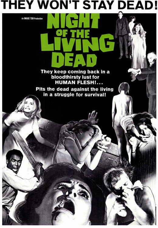 """Tom Devlin's Monster Museum Classic horror film """"Night of Living of the Living Dead"""" will be shown at 8 p.m. Saturday at Tom Devlin's Monster Museum, 1310 Boulder City Parkway. Admission is $5."""