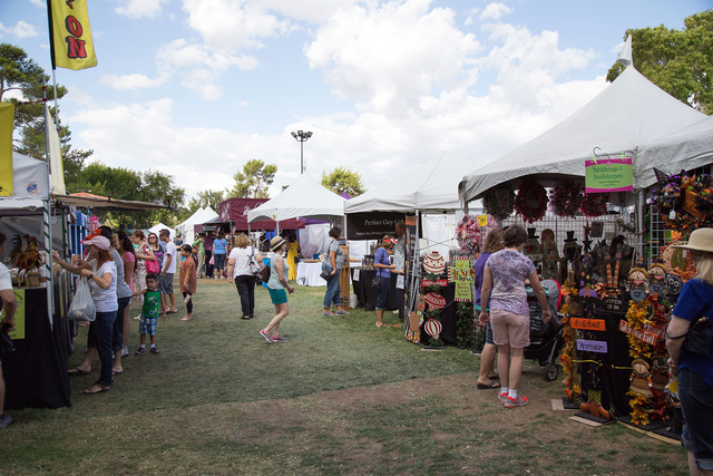 Courtesy photo The 54th annual Art in the Park returns to downtown Boulder City on Saturday and Sunday with nearly 350 artists and vendors prepared to welcome more than 100,000 attendees over the  ...