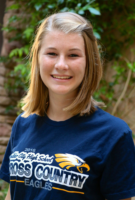 Laura Hubel/Boulder City Review  Each week the coaches at Boulder City High School nominate an athlete to spotlight for contributions made to his or her team. This week's honoree is junior  ...