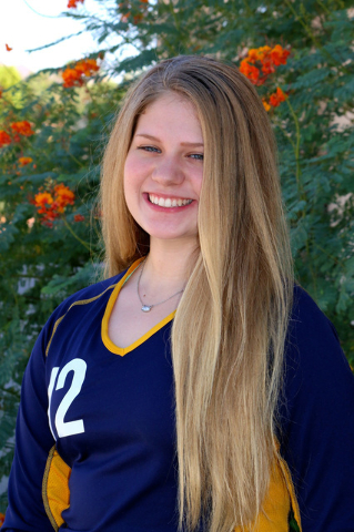 Laura Hubel/Boulder City Review   Each week the coaches at Boulder City High School nominate an athlete to spotlight for contributions made to his or her team. This week's honoree is senior ...