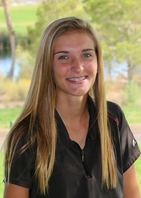 Laura Hubel/Boulder City Review  Each week the coaches at Boulder City High School nominate an athlete to spotlight for contributions made to his or her team. This week's honoree is sophomore Ma ...