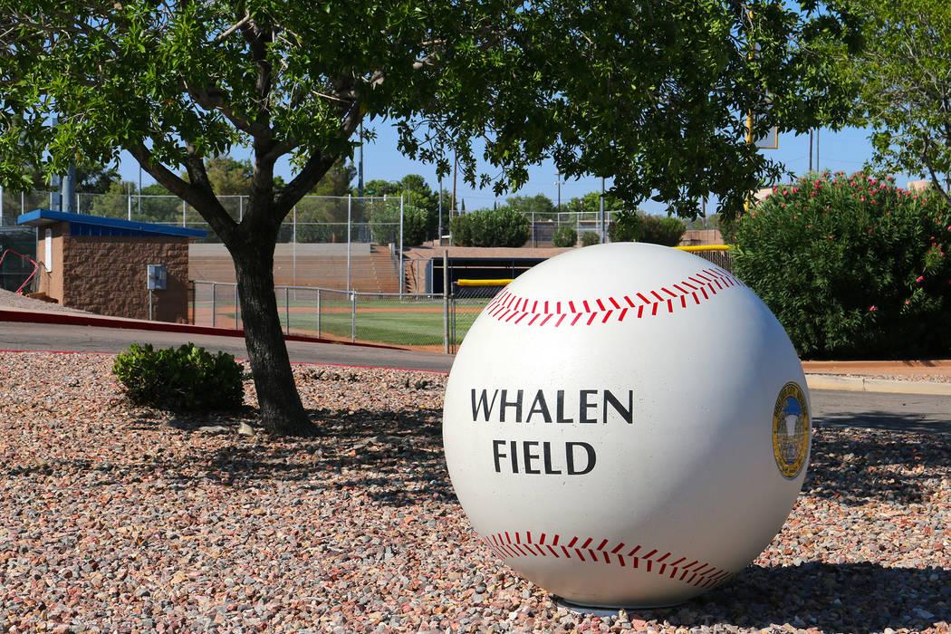 Laura Hubel/Boulder City Review Whalen Baseball Field