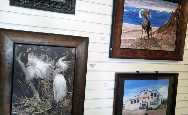 The Boulder City Art Guild will host a reception for for July's featured artist, Debra Wilson, Sunday, 1-3 p.m., at the Boulder City Art Guild Gallery inside the Boulder Dam Hotel, 1305 Arizona St ...
