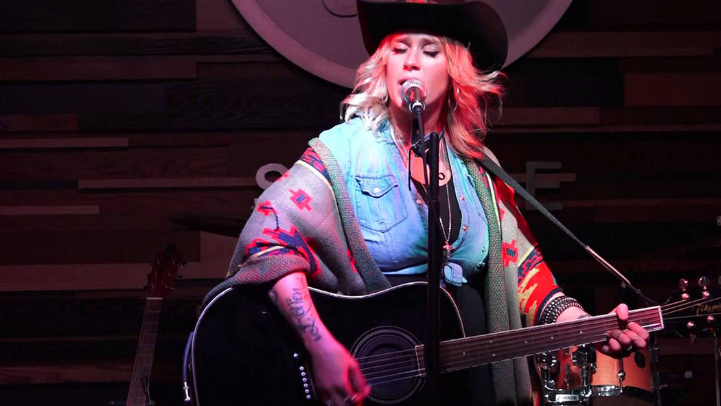 Courtesy photo Seattle-based singer songwriter Darci Carlson will perform a free show Friday night at the Boulder Dam Brewing Co., 453 Nevada Way.