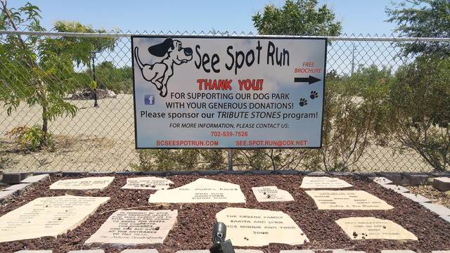 File photo See Spot Run dog park, located within Veterans' Memorial Park, 1650 Buchanan Blvd., will have a cleanup session from 8-11 a.m. Saturday. All are welcome to attend.