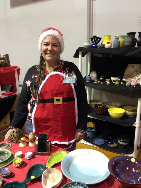 File photo The Doodlebug Craft Bazaar features fine, handmade arts and crafts created by vendors from all over the Southwest, among them in 2015 was Boulder City's own Julie Connell, who has taugh ...