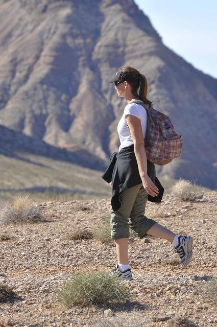 Photo courtesy National Park Service National Park Service rangers at Lake Mead National Recreation Area will lead a 3-mile hike Saturday to Majestic Canyon.