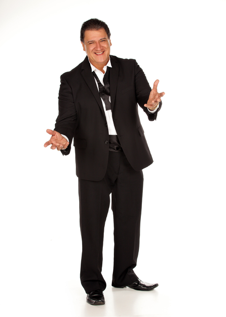 Singer and comedian, Mario, will perform a free show full of jokes, impressions and classic songs, from 8 p.m. to midnight Saturday at the Railroad Pass Casino, 2800 S. Boulder Highway. Courtesy photo