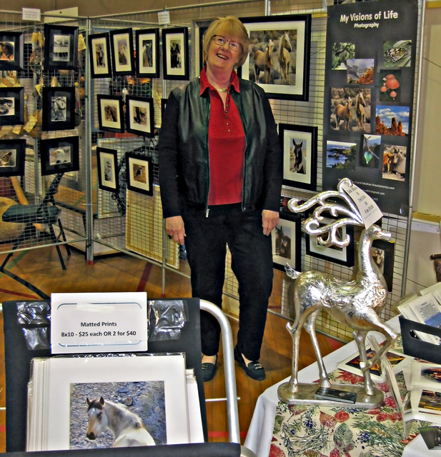 Courtesy photo Downtown Boulder City will be home to the Winter ArtFest and the Winter Art Spectacular on Saturday and Sunday as dozens of artists and craft vendors will fill the Boulder City Park ...
