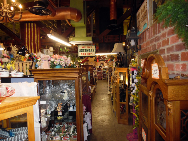 Hunter Terry/Boulder City Review Goatfeathers Emporium, 1300 Wyoming St., is more than your usual antique store, with a seemingly endless supply of vintage and kitschy items, as well as crafts and ...