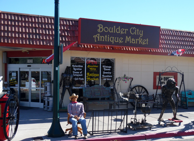 Hunter Terry/Boulder City Review The Boulder City Antique Market, 1101 Arizona St., is one of the largest antique dealers in the town and is the only one to feature its own auction house, where it ...