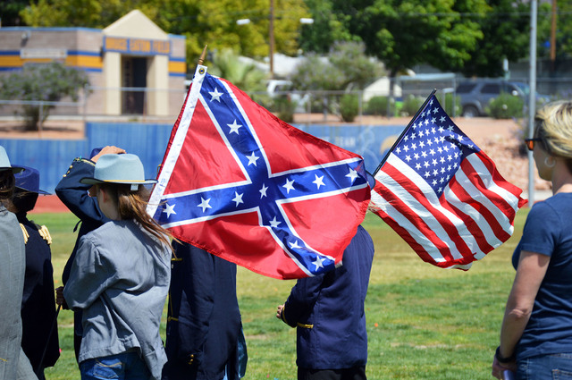 File photo The South surrenders to the North at King Elementary School's 30th annual Civil War Re-enactment in May. King Elementary School Assistant Principal Jorge Palacios announced on Oct. 21 t ...