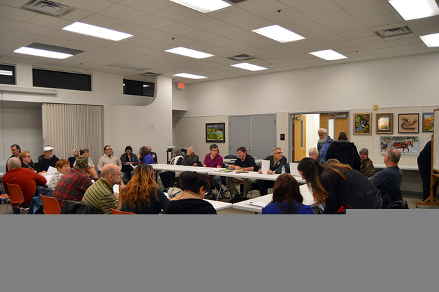 Max Lancaster/Boulder City Review The Boulder City Community Alliance saw a noticeable increase in attendance at its second official meeting at the Boulder City Library on Monday night. The allian ...