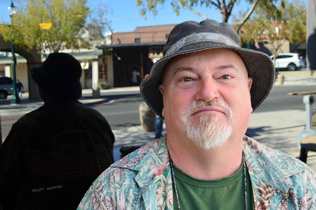 """Scott Hargadine said that he plans to rest off his extra hour. """"I am just gonna sleep and that is all I want to do,"""" Hargadine said. Max Lancaster/Boulder City Review"""