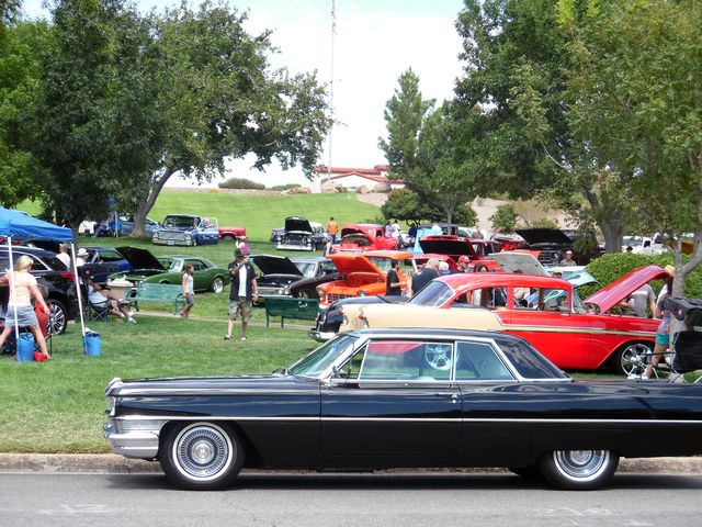 Hunter Terry/Boulder City Review The Fall Classic Custom and Rod Car Show was held in conjunction with the Fall Family Festival on Saturday as the two events filled Wilbur Square and Bicentennial  ...