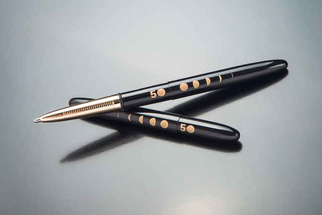 Courtesy photo Fisher Space Pen, which is based in Boulder City, has created a special 50th anniversary edition of the space pen.
