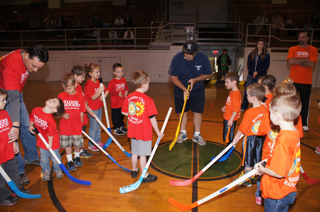 File photo Boulder City Parks and Recreation will hold opening-day ceremonies for its city's youth floor hockey program at 8:30 a.m. Saturday in the old gym at the recreation center, 900 Arizona St.