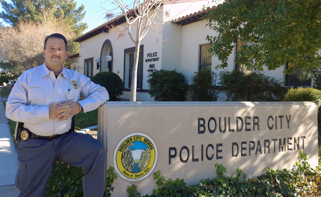 Hunter Terry/Boulder City Review Detective Craig Tomao has been with the Boulder City Police Department since 1998 and has been an adviser for the Boy Scouts' Explorer program for most of the year ...