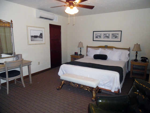 Hunter Terry/Boulder City Review The historic Boulder Dam Hotel will work with six sponsors to redecorate and design rooms as part of The Great Hotel Flip room design contest, which begins Saturday.
