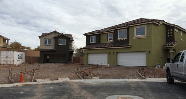 File photo Randy Schams, CEO of RPS Homes, which built the Our Place at Cottonwood community, pictured here while it was under construction at the end of 2014, is in escrow for 640 acres of land i ...