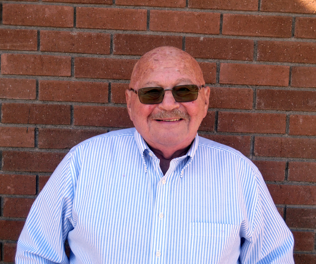 Hunter Terry/Boulder City Review Gary Berger will finish his term on the Boulder City Library Board of Trustees in March. The library is accepting applications through Feb. 7 to fill his seat.