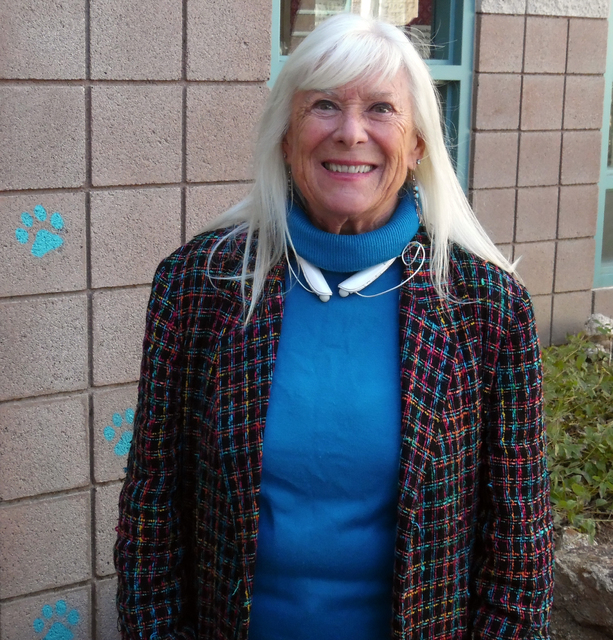 Hunter Terry/Boulder City Review Valerie McNay will finish her term on the Boulder City Library Board of Trustees in April. The library is accepting applications through Feb. 7 to fill her seat.