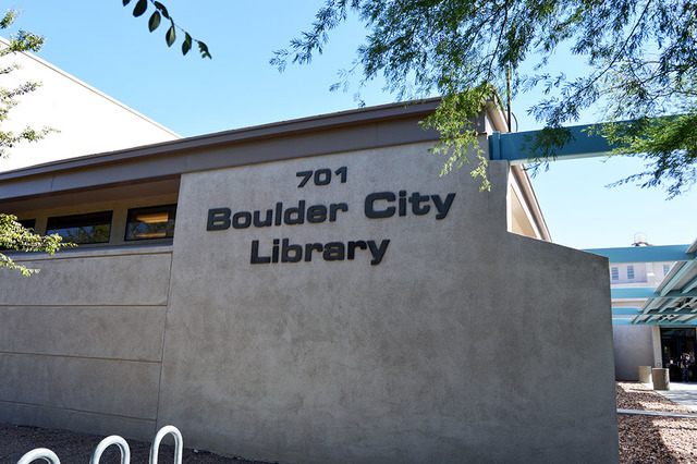 Max Lancaster/Boulder City Review The Boulder City Library Board of Trustees is one step closer to hiring a new director after picking two finalists for the job.