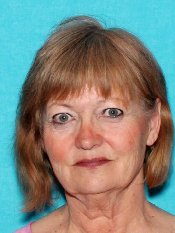 The body of Kathleen Ploutz, seen in this photo from the Nevada Department of Motor Vehicles, was found July 18, 2016, at Lake Mead National Recreation Area. Police are seeking the public's help i ...