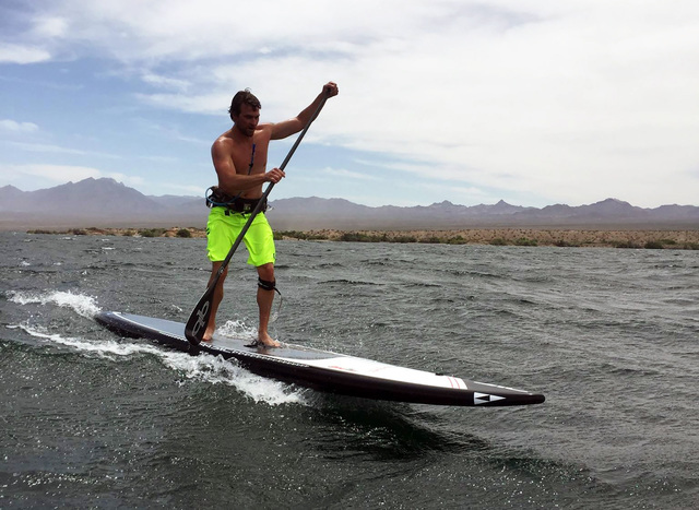 Terry Stevens has been paddleboarding for fun and in competition for six years and on July 31 he will race in the 32-mile Molokai 2 Oahu Paddleboard World Championships in Hawaii. Courtesy photo