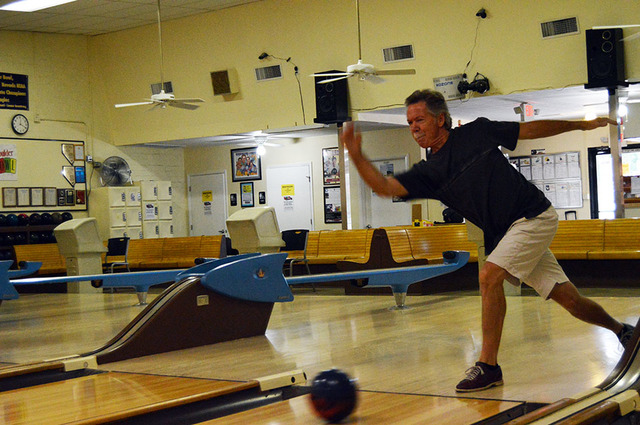 Max Lancaster/Boulder City Review Joe Merrill bowled a perfect game on Sept. 29 at Boulder Bowl. He said he has bowled so many perfect games in his career that he can't remember the total.