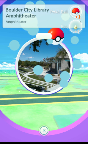 """""""Pokemon Go"""" is the most popular mobile game in the world at the moment and the GPS-based adventure requires players to go out in search of physical landmarks in the real world, such as the amphit ..."""