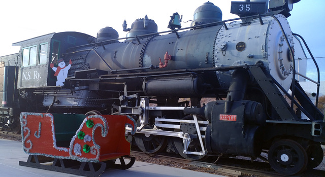 Hunter Terry/Boulder City Review The Nevada State Railroad Museum, 601 Yucca St., will host the Santa Train each hour on the hour, from 10 a.m. to 3 p.m. the next two Fridays and Saturdays, in add ...