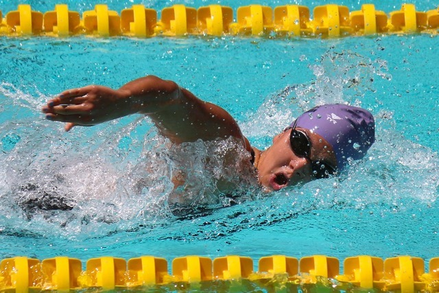 Northwestern University senior Megan Purdy, who is home for the summer and swimming with Boulder City Heatwave, competed in the 200- and 400-meter freestyles at the Los Angeles Invite July 14-15,  ...